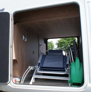 Camping-car de luxe Le Voyageur - Double Plancher et Soute
