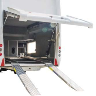 LeVoyageur Liner - Garage Caming car de luxe