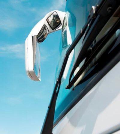 Rétroviseurs type autobus avec miroirs d'angle mort