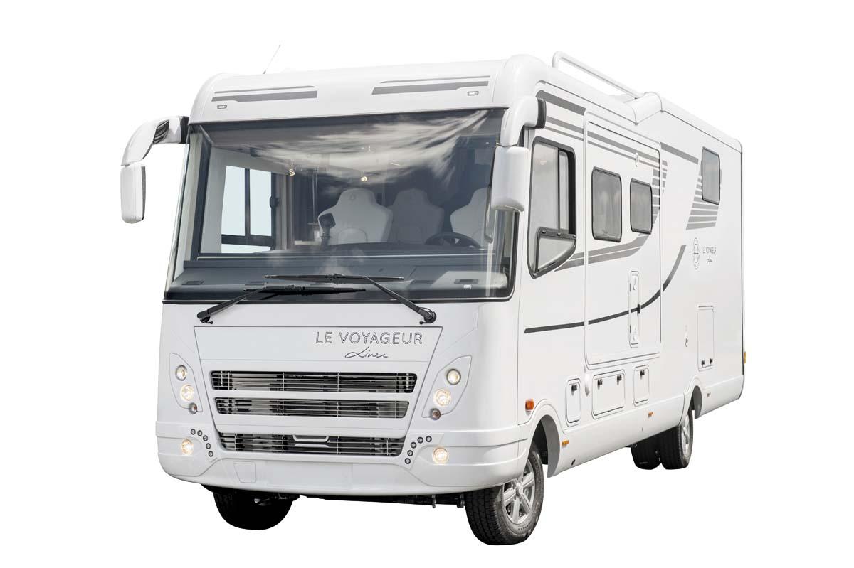 Confort le voyageur for Decoration exterieur de camping car