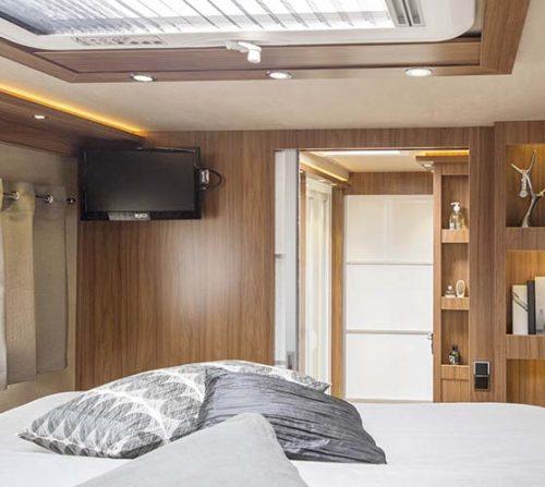 La chambre du Le Voyageur Liner 1050QDCAR