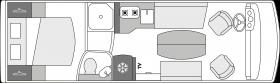 camping-car de luxe le voyageur lv78_cf